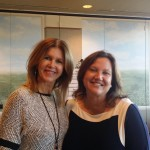 Dot with Rebecca Riccio, Director of the Social Impact Lab at Northeastern University